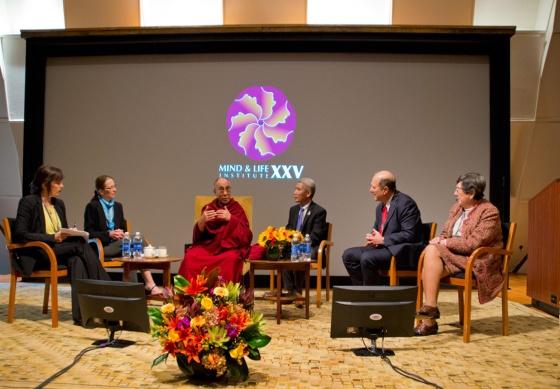 Dalai Lama at Mind and Life Conference