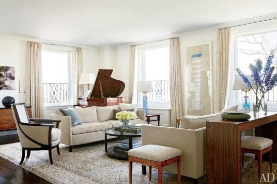 Michael J Fox living room