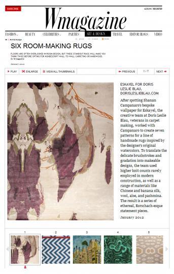 W Magazine Jan 2012