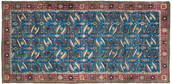 Persian Kirman Rug sold in 2010 for 10M