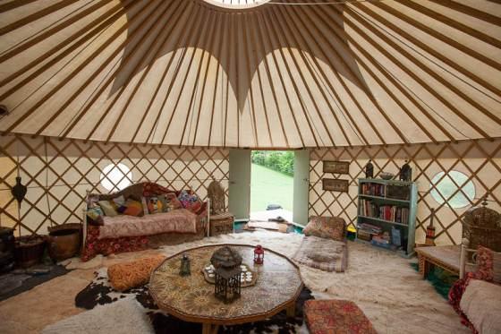 Mongolian style tent