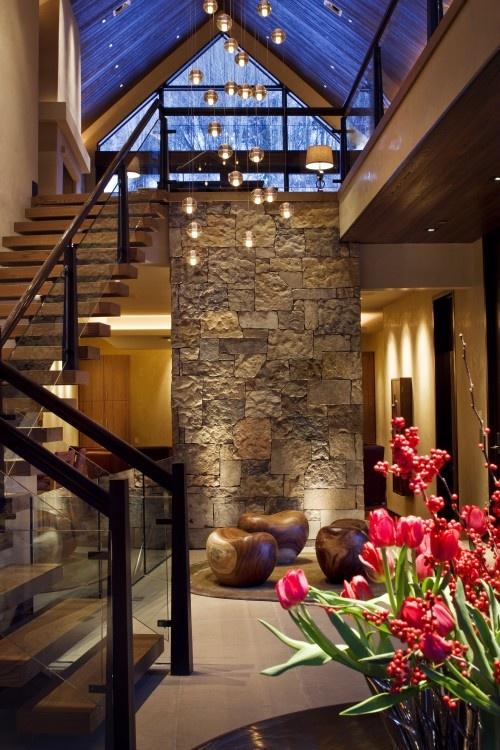chandelier, wood